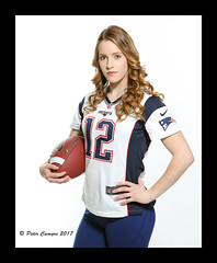 Kelsey - Football (Peter Camyre) Tags: peter camyre photography female model kelsey weibel football jersey brady tom new england patriots newenglandpatriots canon 5d mkiii photo portrait studio photoshoot girl pose posing pretty beauty beautiful blond blonde hair ef70200mmf28lisiiusm canoneos5dmarkiii