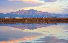 Chortiatis mountain reflection (stefanos tr) Tags: macedoniagreece makedonia timeless macedonian μακεδονια reflection kalochori thessaloniki xortiatis clouds