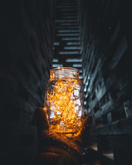 Light (konstantinkulak) Tags: bokeh abstract can electriclights lights tunnel path dark architecture moody