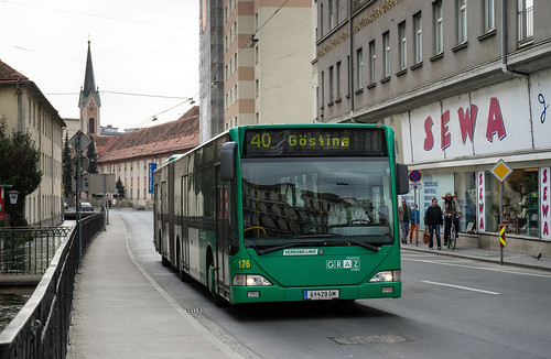 Graz city bus: Mercedes O530 Citaro G # 176
