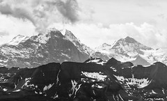 Alps (l4ts) Tags: europe switzerland swissalps berneseoberland bern aaravalley mountrothorn brienz eiger mönch jungfrau blackwhite cloudscape