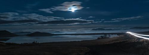 Iceland - Magical moment at lake Mývatn