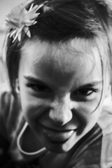 Childish (Matthew Crake) Tags: childish meanface family blackandwhite portriat kids