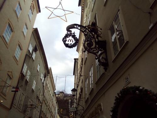 letreiros ferro forjado em Salzburgo