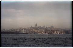 View on Beyoğlu. İstanbul (Alimkin) Tags: turkey istanbul стамбул турция constantinople sea 35mm film filmphotography filmisnotdead analogfilm traditionalphotography travelphoto trip