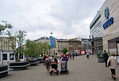Centrs 74 ((krungadoren)) Tags: square people buildings strollers origo centrs