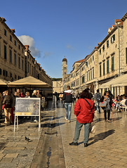 A6263DUBb (preacher43) Tags: dubrovnik croatia old city building architecture tower spire outdoor st salvation