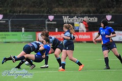 Blues U18s v Dragons U18s xIMG_5962 (Penallta Photographics) Tags: dragonsladies dragonsu18s bluesladies bluesu18s rugby womensrugby rugbyunion wru sardisroad regional wearewaleswomen pontyriddrfc 3g wales sport game pitch tackle