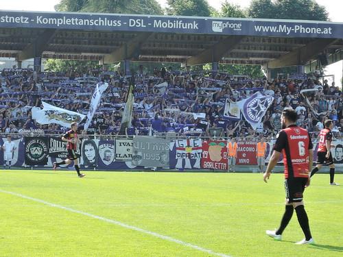 SV Austria Salzburg vs. FC Hard: Schalparade