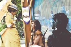 Tarzan, Jane, & Terk (dolewhip) Tags: jane disneyland disney tarzan frontierland bigthunderranchjamboree limitedtimemagic longlostfriendsweek