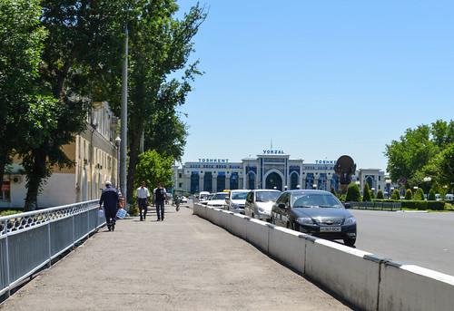 Tashkent central station