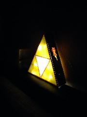 Trifoce LED Nachtlicht mit Fee