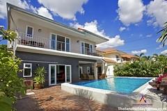 บ้านพักพัทยาจอมเทียน-ว่างให้เช่ารายวัน-สระว่ายน้ำส่วนตัว-บ้านคาลิปโซ่-7ห้องนอน-2