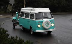Volkswagen T2 (Thethe35400) Tags: auto car cotxe coche automobile voiture carro bíll bil vw samba transporter bus camper delivery microbus pickup samochód carr