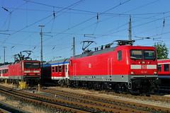 P2020046 (Lumixfan68) Tags: eisenbahn db express bahn 112 lew schleswigholstein deutsche regio hennigsdorf loks baureihe elektroloks