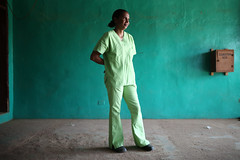 A portrait of Dr. Johnson (World Bank Photo Collection) Tags: africa portrait hospital medical health doctor worldbank ebola