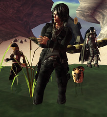 Wastelands Oasis Party11-Floyd (grady.echegaray) Tags: avatar oasis secondlife poolparty postapocalyptic