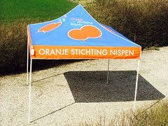 Quick Folding Tent - Oranje Stichting tent