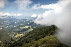 the clouds will come (christian im-fokus) Tags: mountains alps salzburg nature fog landscape berchtesgaden nebel view outdoor natur wolken berge mountaineering alpen aussicht landschaft ascend untersberg aufstieg watzmann hoher gll bergluft