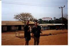 Patrick and Tom visiting Gyedu