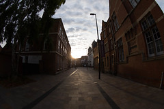 Side Street, Leicester, Canon 8-15mm f4l (u07ch) Tags: firstshots canon815mm