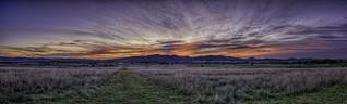 Sunset Over Mount Rombo in Denman