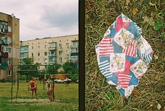 offside 2015. poninka. (Yaroslav F.) Tags: street camera kids analog 35mm mouse foto post superia union mickey soviet frame half fujifilm