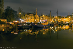 De Noorderhaven in Groningen op woensdag 28 december 2016 (sidneyportier) Tags: sigma1750mm