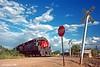 The Globe Local (C.P. Kirkie) Tags: southernpacific sp arizona spglobebranch pimaarizona gp35 emd freighttrain trains railroads