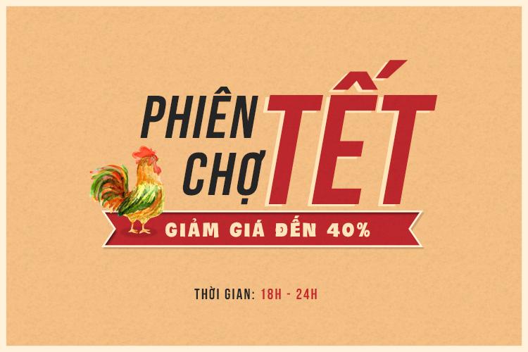 Phiên Chợ Tết - Giảm đến 40%