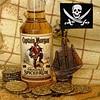 Yo-ho-ho and a bottle of rum (Dragon Whale) Tags: macromondays inspiredbyasong rum pirates treasure map piecesofeight skullandcrossbones captainmorgan robertlouisstevenson goldcoins