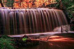 Waterfall (PokemonaDeChroma) Tags: cernaylaville yvelines france fr waterfall cascade longexposure canoneos500d efs1855mmf3556 leebigstopper autumn october 2015