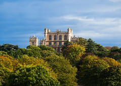 Wollaton Hall (Jonathan Casey) Tags: wollatonhall nottingham wollaton hall panorama 400mm f28 d810 nikon vr