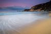 Entre el Atlántico y el Cantábrico (Giacomo della Sera) Tags: paisaje landscape photography deep fotografia light profundidad luz nature naturaleza azul blue morado purple rosa pink mar nubes sea clouds sky seascape españa cielo seda playa beach galicia spain