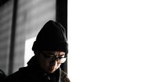 Hyun (nodeskjob) Tags: portrait cinematic sidelight silhouette mrrobot cinematography highkey reflection nikon d750 nikond750