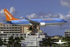Sunwing B737-800_AS5J2162 (RJJPhotography) Tags: sxm princessjulianainternationalairport caribbean tncm saintmaarten