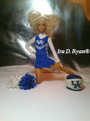 (krixxxmonroe) Tags: ira d ryan photography and styling orange top made to move barbie univeristy of kentucky cheerleader