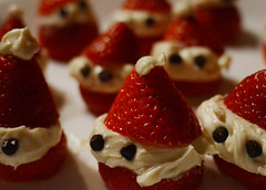Strawberries (the factory wall) Tags: strawberry strawberries cream cheese santa