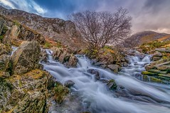~Harness the power~ (Lee~Harris) Tags: water waterfall snowdonia rugged uk rocks watermotion waterways wales longexposure nikon nikond300 colours beauty love outdoor landcape outdoors river landscapephotography landscapes nature light landscape serene