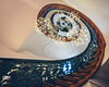 Spiralling Staircase (Boudewijn Vermeulen ) Tags: amsterdam cromhouthuis antique ceiling classic decoration decorative goldenage goudeneeuw interieur interior lightning publ spiralling stair staircase winding