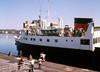 MV Arran at Port Ellen 1971 (shipcard) Tags: macbrayne islay portellen carferry scotland westhighlands westcoast scottishtransportgroup 1971