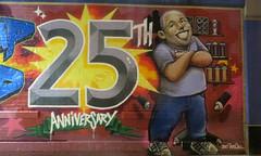25th Anniversary (edenpictures) Tags: manhattan newyorkcity downtown graffiti mural tatscru piece eastvillage 25thanniversary scrapyard