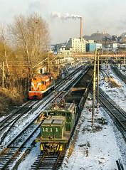 Fushun Mines Railway (Kingmoor Klickr) Tags: fushun mine 1211 mitsubishi china liaoning province electric railway industrail locomotive