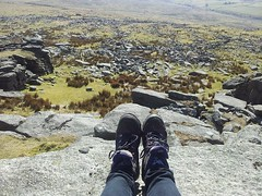 11079595_10153267799700815_3148350400199306541_n (hollyfreyja) Tags: dartmoorr monolithic pentax k50 nature devon england hiking moorland wilderness tors dartmoor national park river bellever forest