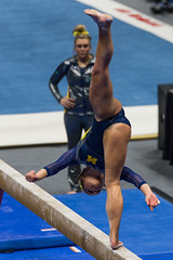 Utah vs Michigan-2017-171 (fascination30) Tags: utah utes michigan gymnastics