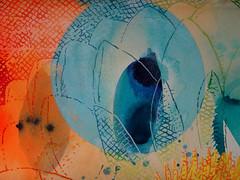 DSC0966893 (scott_waterman) Tags: ink watercolor gouache lotus lotusflower scottwaterman painting paper detail