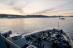 USS Green Bay Conducts Mid-Cycle Inspection Rehearsal (#PACOM) Tags: ussgb greenbay ussgreenbay lpd20 japan sasebo bhr ctf76 forwarddeployed us7thfleet pacific ocean water navy ship sailors wisconsin packers jpn