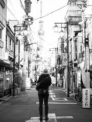 street/sky tree (osanpo_traveller) Tags: japan tokyo asakusa street skytree sky olympus mzuiko ep5 25mm f18