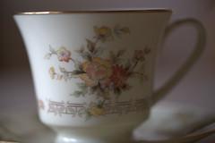 Coffee or tea? (C. VanHook (vanhookc)) Tags: china noritake westport coffeecup