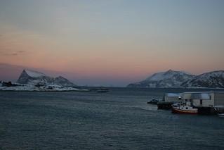 A Seaside Sunset on Sommarøy